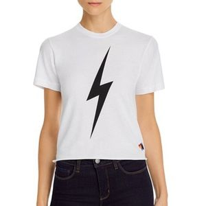 Aviator Nation Lightning Bolt Boyfriend Tee
